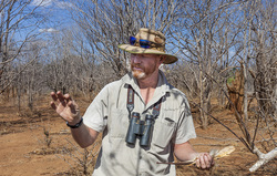 Picture of Mike Scott Contact Khangela Safaris Zimbabwe